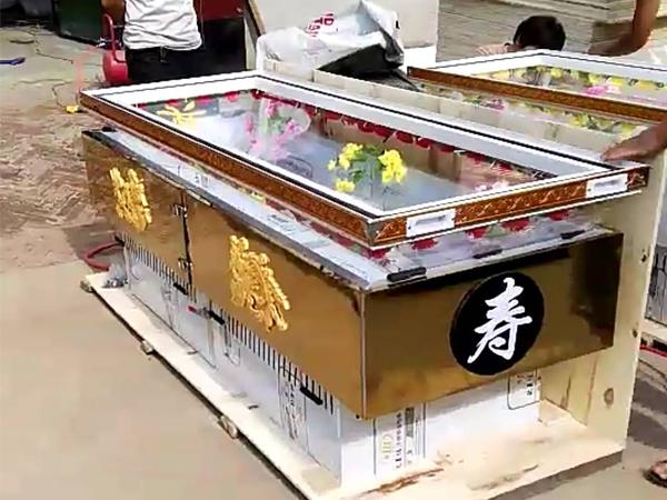 武汉水晶棺加工厂